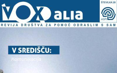 Vox Alia, jesen 2019