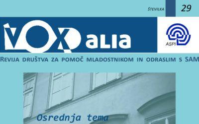 Vox Alia, jesen 2020