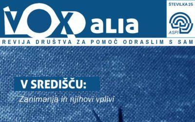 Vox Alia, poletje 2019