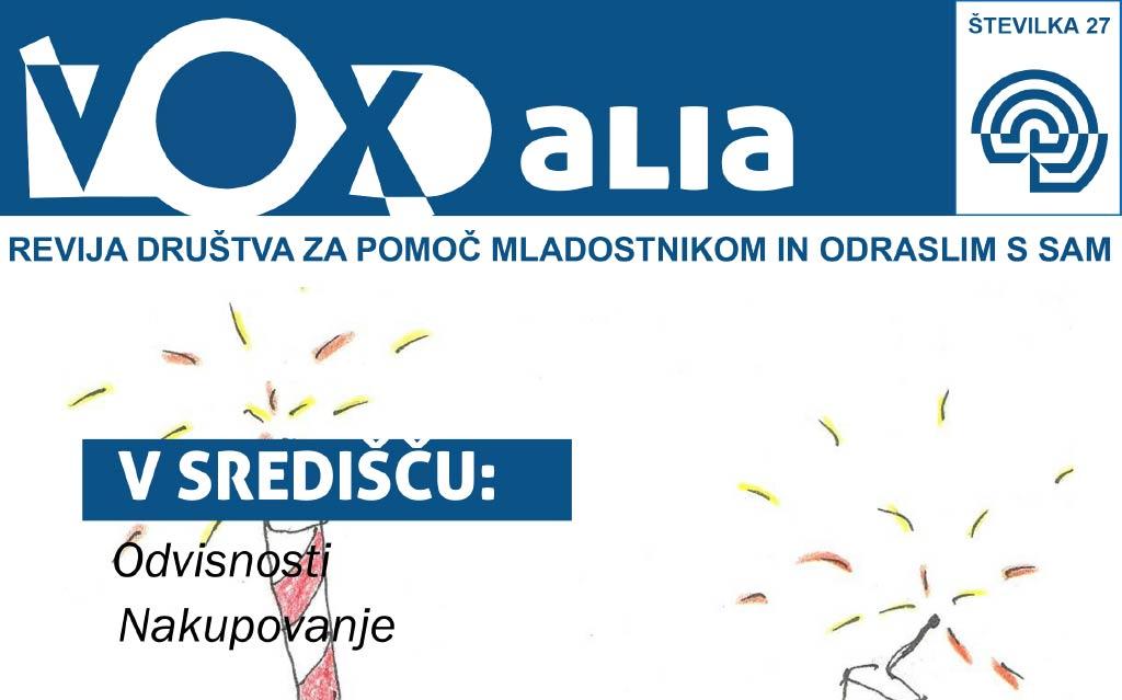 Vox Alia, pomlad 2020