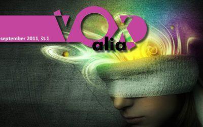Vox Alia, September 2011