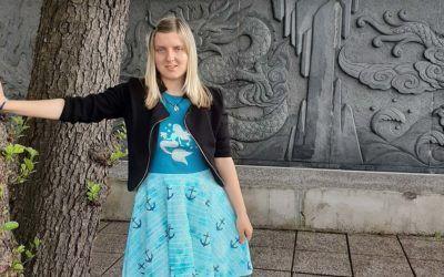 Klara Gregorc – oseba s SAM