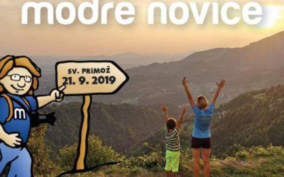 Modre Novice: 21. septembra bomo že sedmič dobrodelni na Sv. Primožu