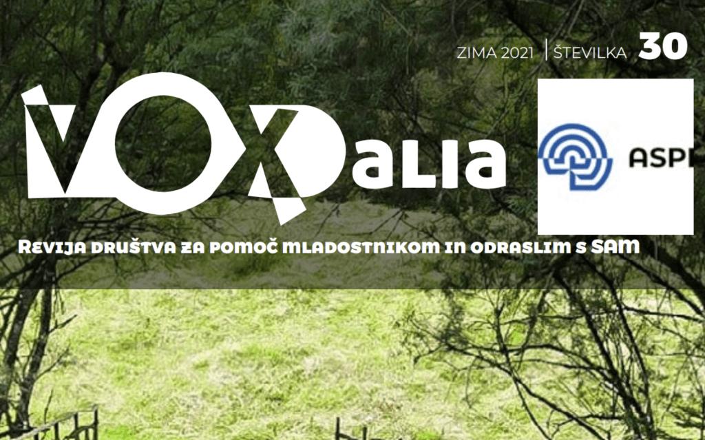 Vox Alia, zima 2021