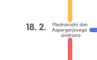 18. 2. Mednarodni dan Aspergerjevega sindroma